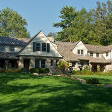Traditional Exterior by Huestis Tucker Architects, LLC