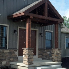 Traditional Exterior by O'Connor Builders Inc