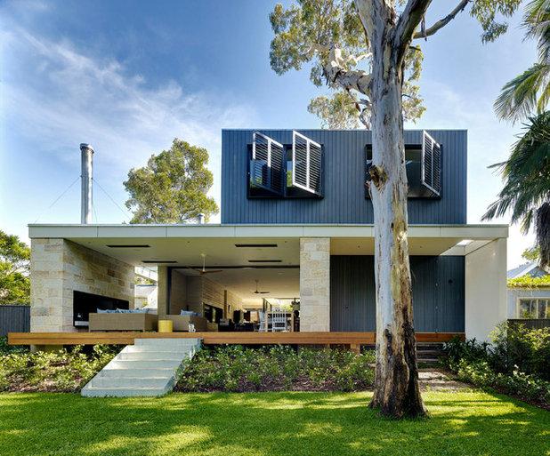 Contemporáneo Fachada by TKD Architects