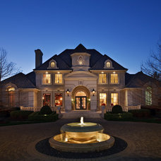 Traditional Exterior by The PFA Design Group