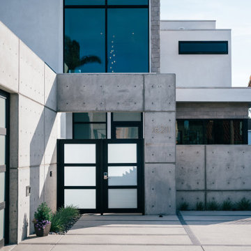 huntington harbour waterfront contemporary