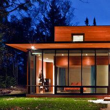 Modern Exterior by Kariouk Associates