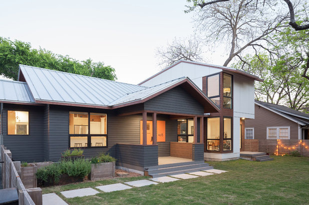 Houzz Tour: New Life for a Texas Bungalow on spanish revival bungalow, spanish style bungalow, california spanish bungalow,
