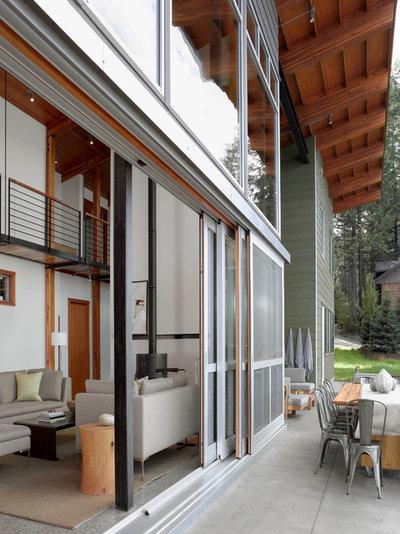 Contemporary Exterior by Stone Interiors