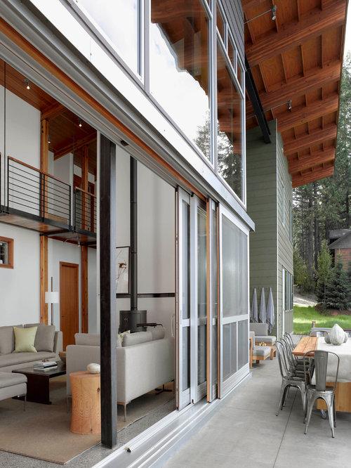 green exterior home idea in san francisco
