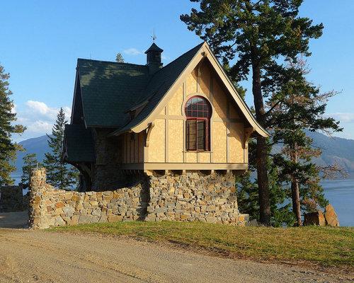 Small Lake Cottage Houzz