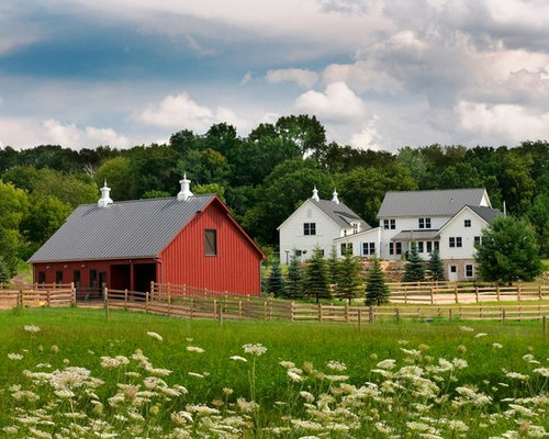red barn photos - Barn Design Ideas