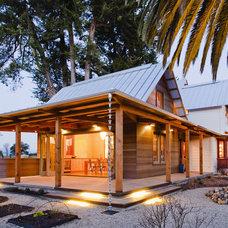 Farmhouse Exterior by Arkin Tilt Architects