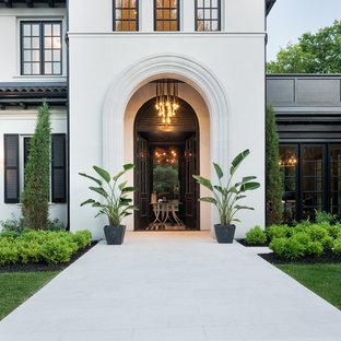 Пример оригинального дизайна: дом в средиземноморском стиле