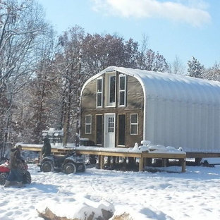 Illinois Off-Grid Steel Home