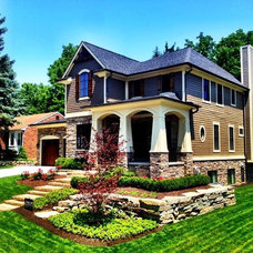 Traditional Exterior by Imagine Landscapes