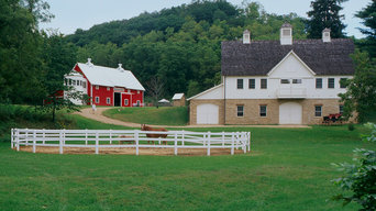 Implement Barn and Horse Barn
