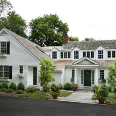 Traditional Exterior by Lasley Brahaney Architecture + Construction