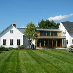 traditional exterior by Vermont Integrated Architecture