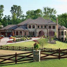 Traditional Exterior by W.V. de Stefano Homes, LLC