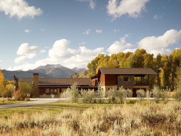 Contemporary Exterior by OSM Wyoming, Inc.