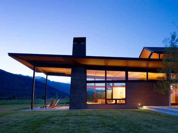 Contemporary Exterior by Carney Logan Burke Architects