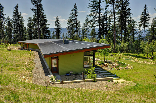 Sunlight used right modern home designs that harness for Solar passive home designs