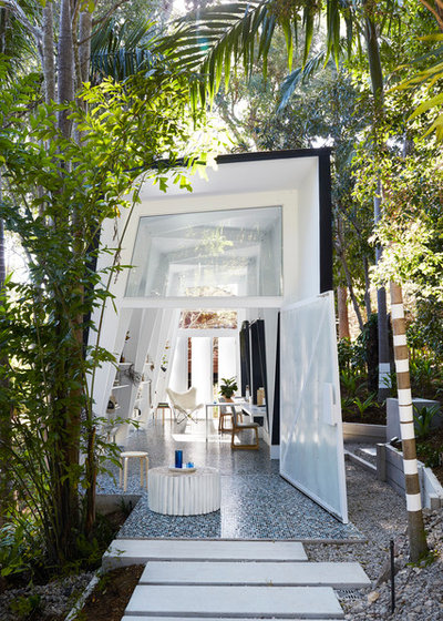 Contemporary Exterior by IndigoJungle Interior Styling