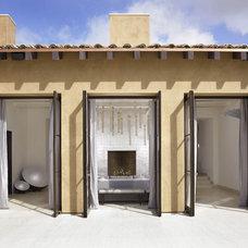 Mediterranean Exterior by Amy Noel Design