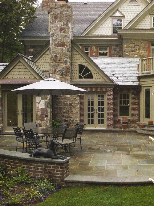 Brick Exterior Home Design Ideas Remodels Photos