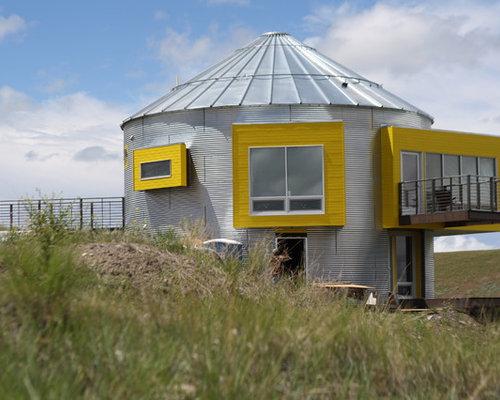Grain Bin House | Houzz