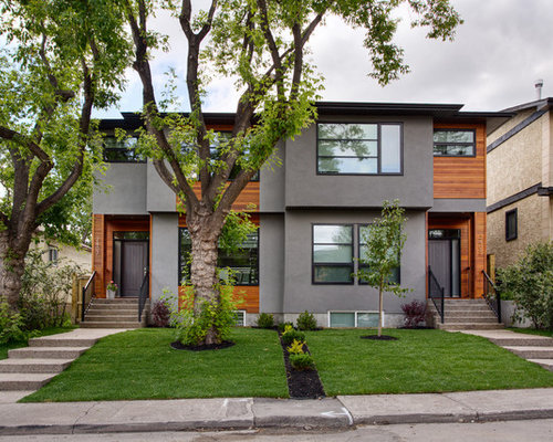 Best Grey Stucco Design Ideas Amp Remodel Pictures Houzz