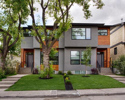 calgary exterior home design ideas, remodels & photos