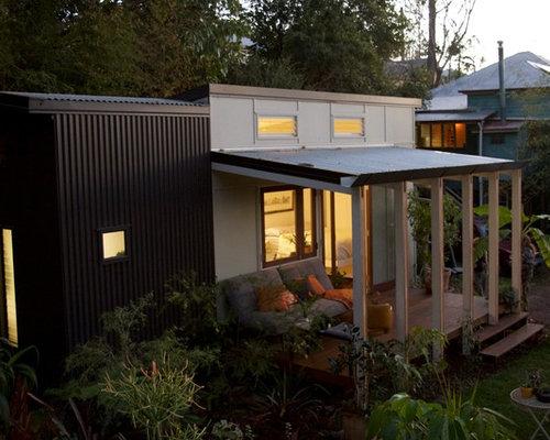 Brisbane Split Level Exterior Design Ideas Renovations Photos