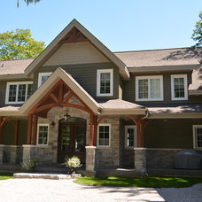 Craftsman Exterior by Custom CADD Inc