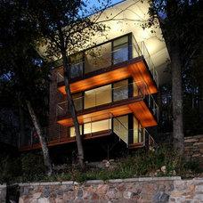 Modern Exterior by Nautilus Architects LLC