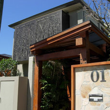 Contemporary Exterior by Arlene Warda, Architecture+Interior Design