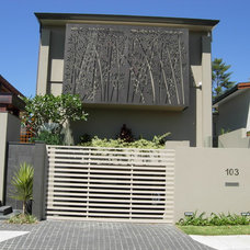 Modern Exterior by Arlene Warda, Architect