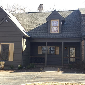 Insulated Wide Lap Vinyl Siding System - Chesterfield, MO