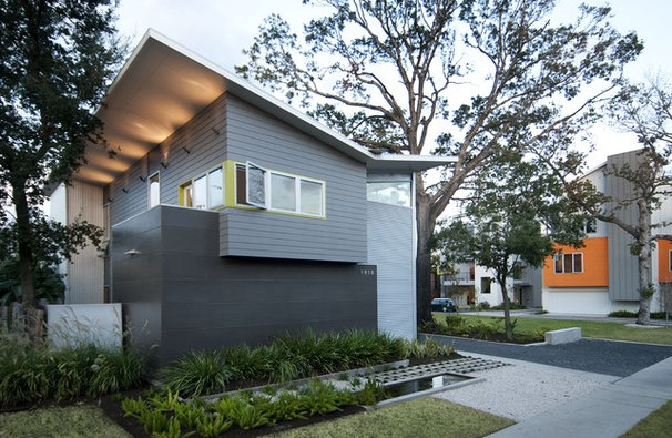 Modern Exterior by Intexure Architects