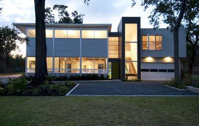 Houzz Tour: Houston Architects' Modern Live-Work Studio