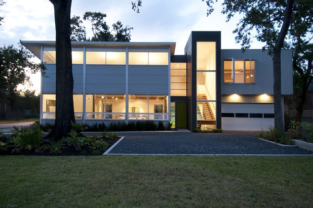 Contemporary Exterior by Intexure Architects