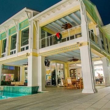Intracoastal Key West Style Custom House