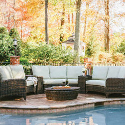 Shop Eclectic Outdoor Sofas On Houzz