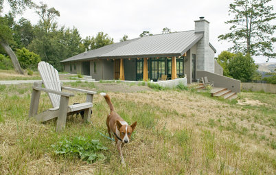 Houzz Tour: Modern Meets Rustic in Rural Marin County