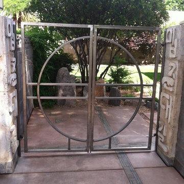 Iron Doors and Fences