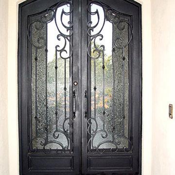 Iron Doors, Gates and Railing