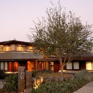 Inspiration for an eclectic exterior home remodel in San Luis Obispo