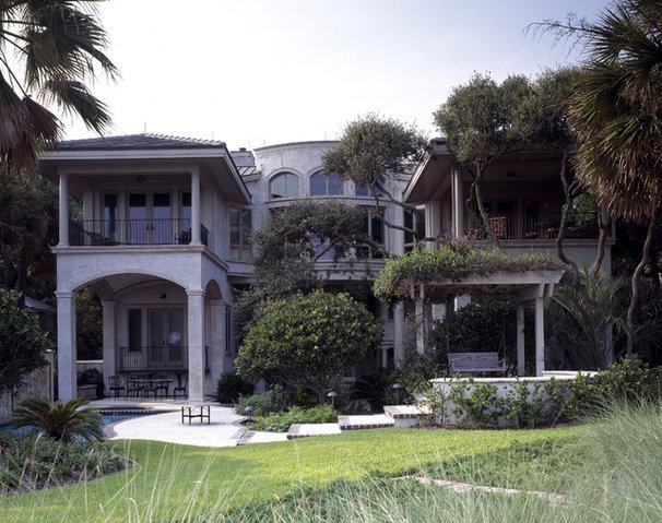 Mediterranean Exterior by Frederick + Frederick Architects