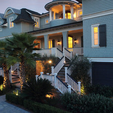 Beach Style Exterior by Phillip W Smith General Contractor, Inc.