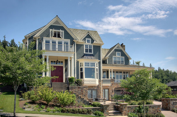 Traditional Exterior by Hilary Young Design Associates