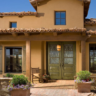 Tuscan exterior home photo in Phoenix