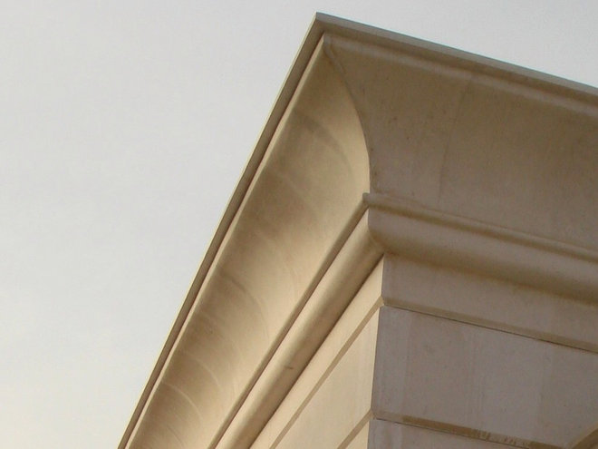 Traditional Exterior by Marvelous Marble Design Inc.