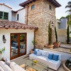 Tuscan Farmhouse 4 Mediterranean Exterior Orange