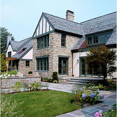 Traditional Exterior by Iu + Bibliowicz Architects LLP